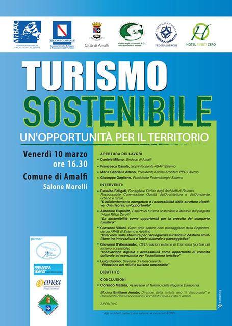 turismo sotenibile Amalfi